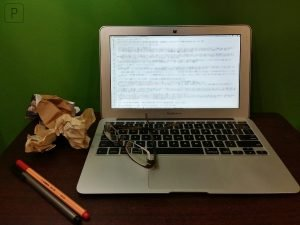 picture of laptop to explain WordPress Post Formatting Tips