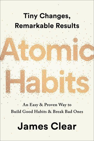 Book cover for Atomic Habits
