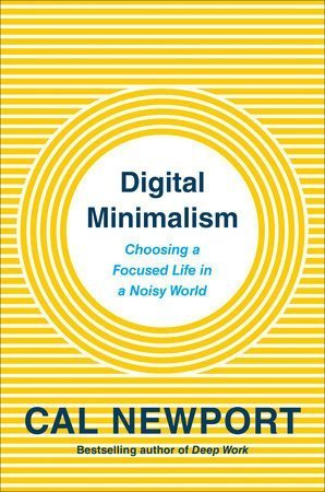 cover of digital minimalism by cal newport