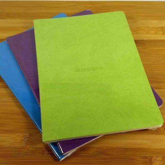 Rhodia Rhodiarama Sewn Spine Notebooks