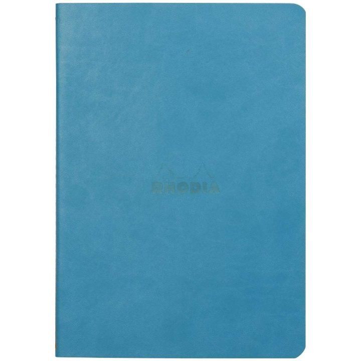 Rhodia Rhodiarama Sewn Spine Notebooks, Turquoise Cover